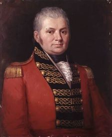 John Graves Simcoe, Governor of Upper Canada, circa 1795